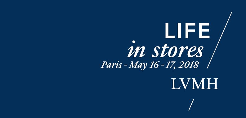 LVMH LIFE in store 2018 in Paris